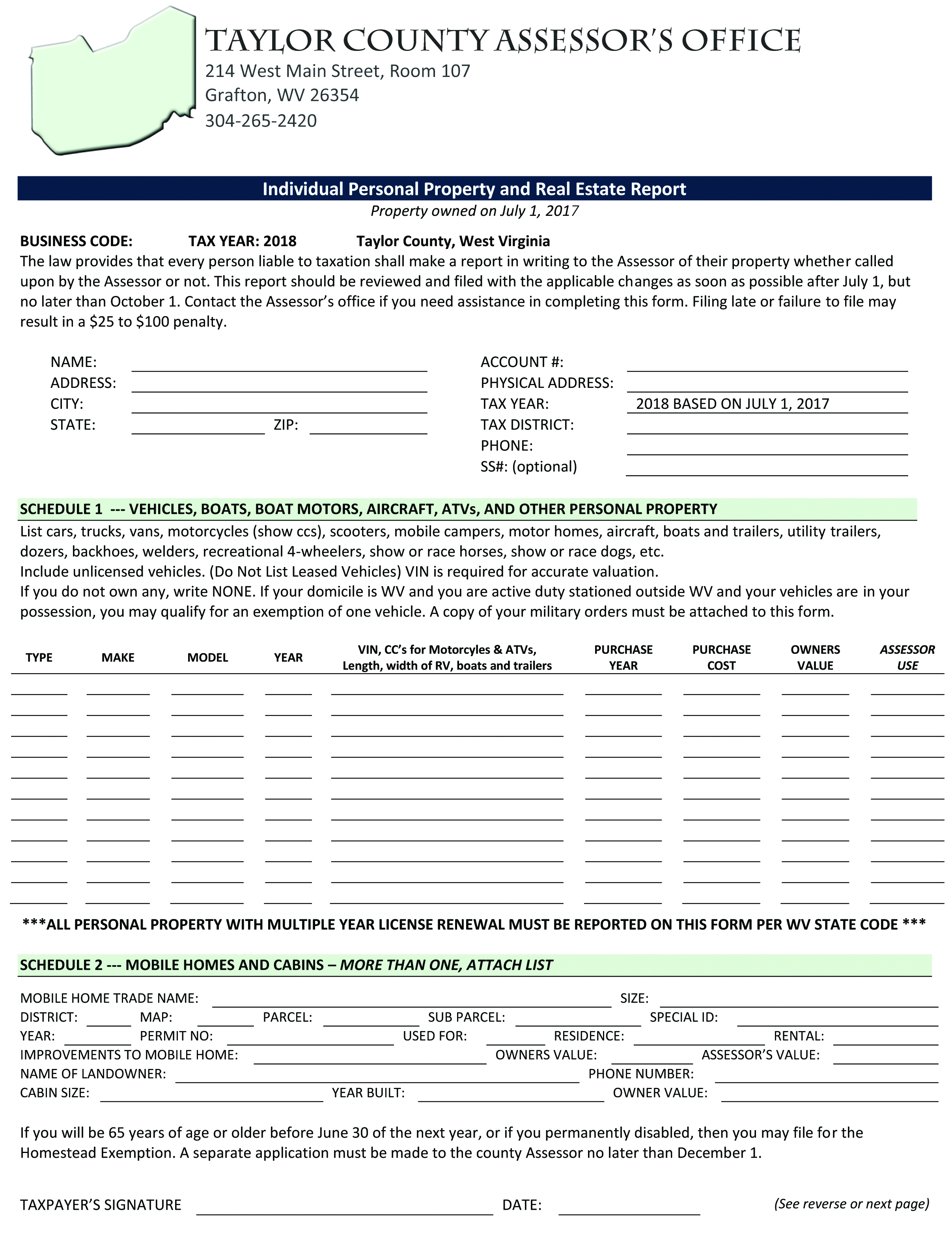 Wv State Tax Forms