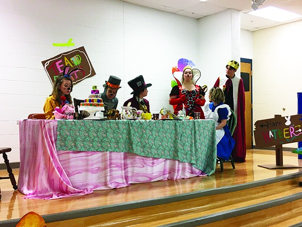 Guests traveled down the rabbit hole at Grafton High School - Mountain Statesman